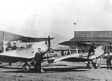 Airplane Picture - DH 60G Gipsy Moths in service with LAN-Chile, 1933