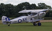 Airplane Picture - Hawker Hind, flying example in Shuttleworth Collection