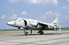 Airplane Picture - Hawker Siddeley XV-6A Kestrel in USAF livery