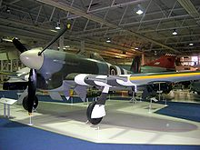 Airplane Picture - Hawker Typhoon RAF Hendon