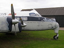 Airplane Picture - Heron 1B at the Newark Air Museum