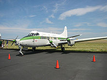 Airplane Picture - DH.114 Heron 2 restored in the United States