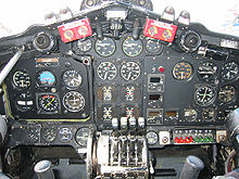 Airplane Picture - De Havilland Heron Instrument Panel