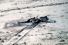 Airplane Picture - An Iraqi Su-25 destroyed during Operation Desert Storm