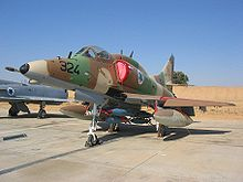 Airplane Picture - An Israeli A-4N.