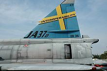 Airplane Picture - Vertical stabilizer