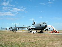Airplane Picture - A KC-10 (right foreground) and C-17 (left background) at Avalon Airport, Australia, in March 2005
