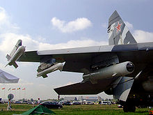 Airplane Picture - Su-27SK at MAKS Airshow 2007