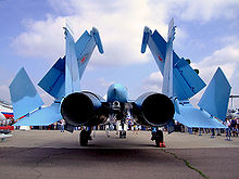 Airplane Picture - Su-33 at MAKS Airshow 2007.