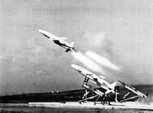 Airplane Picture - A U.S. Navy MQM-74A launch, 1972.