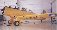 Airplane Picture - NA-64 Yale I preserved airworthy in 2006 at the Historic Aircraft Restoration Museum near St Louis in RCAF 1940 markings