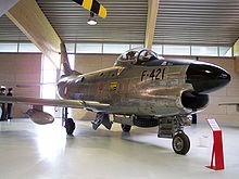 Airplane Picture - Danish North American F-86D Sabre