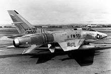 Airplane Picture - An RF-100A at Palmdale, later deployed to Bitburg AB, Germany