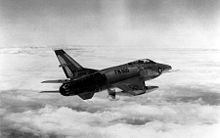 Airplane Picture - An RF-100A in flight, inexplicably marked with the AF serial number of a Northrop F-89 Scorpion (53-2600)