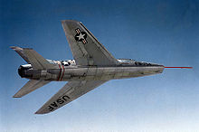 Airplane Picture - The underside of a YF-100 (s/n 52-5754)