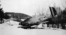 Airplane Picture - The sole Norwegian air-to-air Gloster Gladiator loss - Sergeant Pilot Schye's Gladiator 427 on 9 April 1940