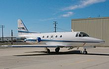 Airplane Picture - NA-265-60 Series 60 Sabreliner at NTPS, Mojave