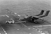 Airplane Picture - An OV-10A of VMO-1 operating from USSNassau in 1983.