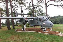 Airplane Picture - An OV-10 on static display at Hurlburt Field Air Park.