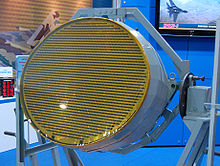 Airplane Picture - Radar with APAA for the PAK FA is provided by NIIP. MAKS-2009
