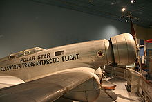 Airplane Picture - The Polar Star on display at the National Air and Space Museum