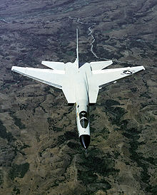 Airplane Picture - An overhead aerial view of an RA-5C Vigilante aircraft.