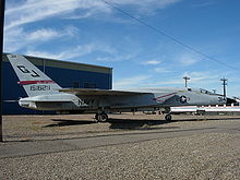 Airplane Picture - RA-5C BuNo 151629 on display at the Pueblo Weisbrod Aircraft Museum in Pueblo, Colorado in November 2007.