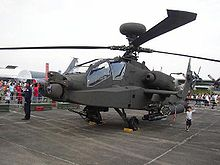 Airplane Picture - Republic of Singapore Air Force AH-64D on static display during open house
