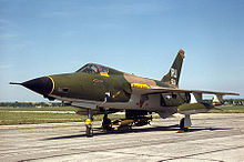 Airplane Picture - A surviving F-105D Thunderchief at the National Museum of the United States Air Force.