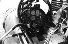 Airplane Picture - The cockpit of a F-105D Thunderchief.