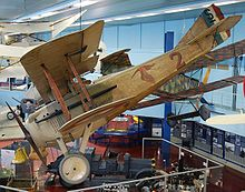 Airplane Picture - An original SPAD S.VII at the Musee de l'Air, once flown by Georges Guynemer in World War I