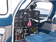 Airplane Picture - Republic RC-3 Seabee instrument panel and cockpit
