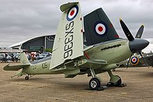 Airplane Picture - Seafire F.XVII SX336
