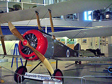 Airplane Picture - Sopwith Triplane reproduction at the Aero Space Museum of Calgary, 2005