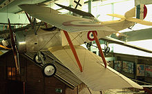 Airplane Picture - Sopwith No. 556 on display in the Musee de l'Air et de l'Espace at Paris le Bourget