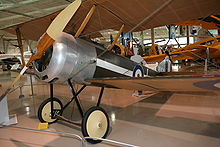 Airplane Picture - Sopwith Pup replica at the Canadian Warplane Heritage Museum