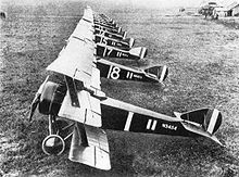 Airplane Picture - Triplanes of No. 1 Naval Squadron at Bailleul, France