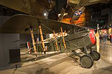 Airplane Picture - SPAD S.VII at the National Museum of the US Air Force