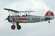 Airplane Picture - FW44J G-STIG at Old Warden 2008