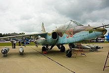 Airplane Picture - Su-25 at Kubinka air base