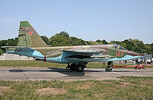 Airplane Picture - Russian Su-25SM