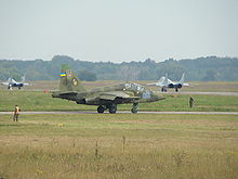 Airplane Picture - Ukrainian Su-25UB
