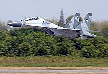 Airplane Picture - Su-30MK of the Indonesian Air Force