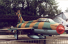 Airplane Picture - A two seat trainer variant Su-7UMK (NATO designation: Moujik)
