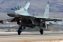 Airplane Picture - IAF Su-30MKI at Nellis Air Force Base
