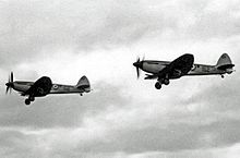 Airplane Picture - Operational Seafire F.47s of 1833 Squadron RNVR in May 1953