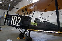 Airplane Picture - Portuguese de Havilland DH-82 Tiger Moth at the Portuguese Air Force Museum