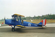Airplane Picture - DH.82A Tiger Moth in Royal Norwegian Air Force markings