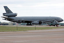 Airplane Picture - A KC-10 on display at the Royal International Air Tattoo in 2005