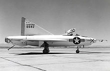 Airplane Picture - The XF-92A at Edwards Air Force Base, 1952